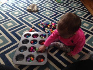 toddler sorting activity