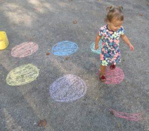chalk hop smile
