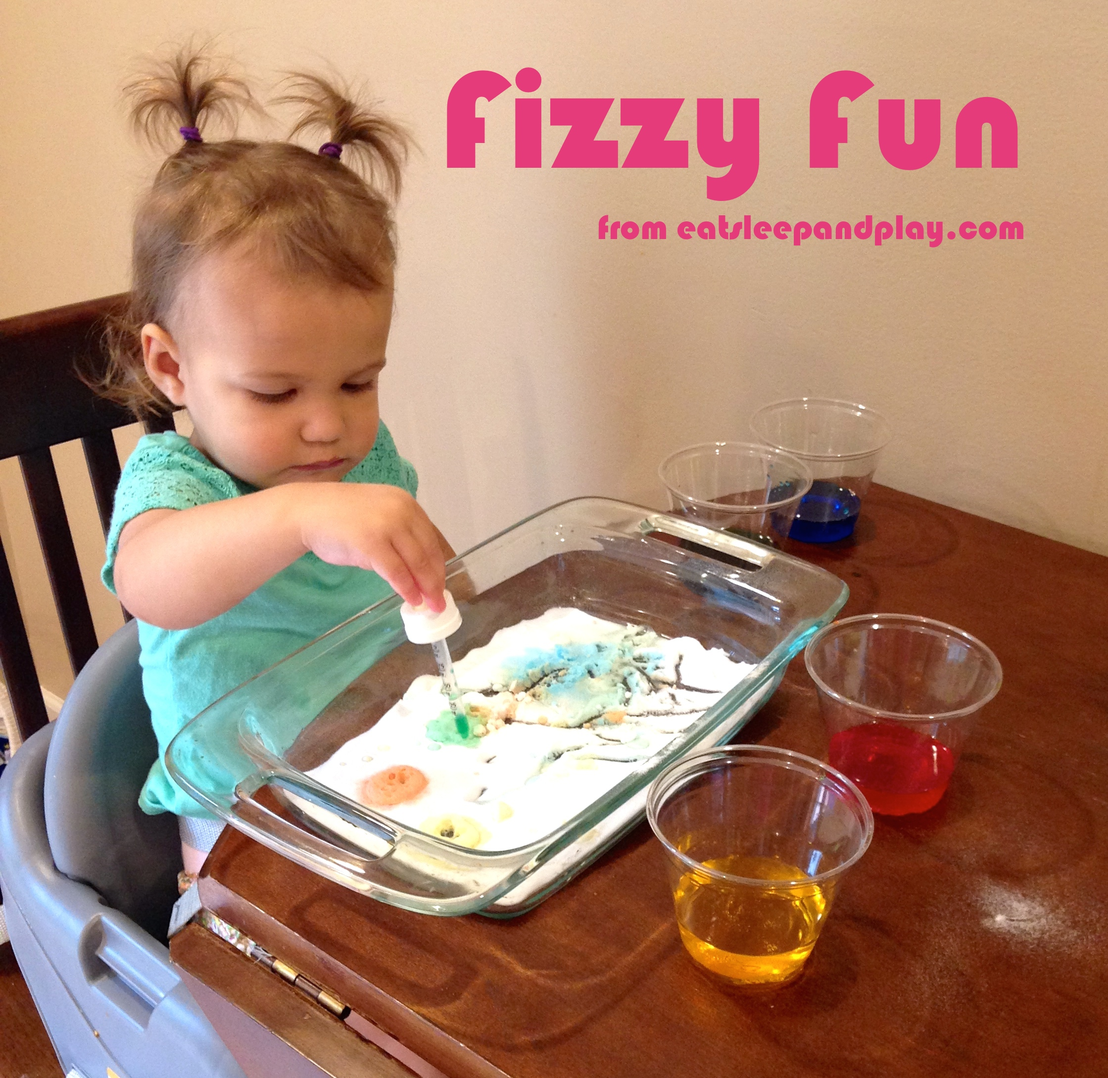 fizzy fun toddler activity
