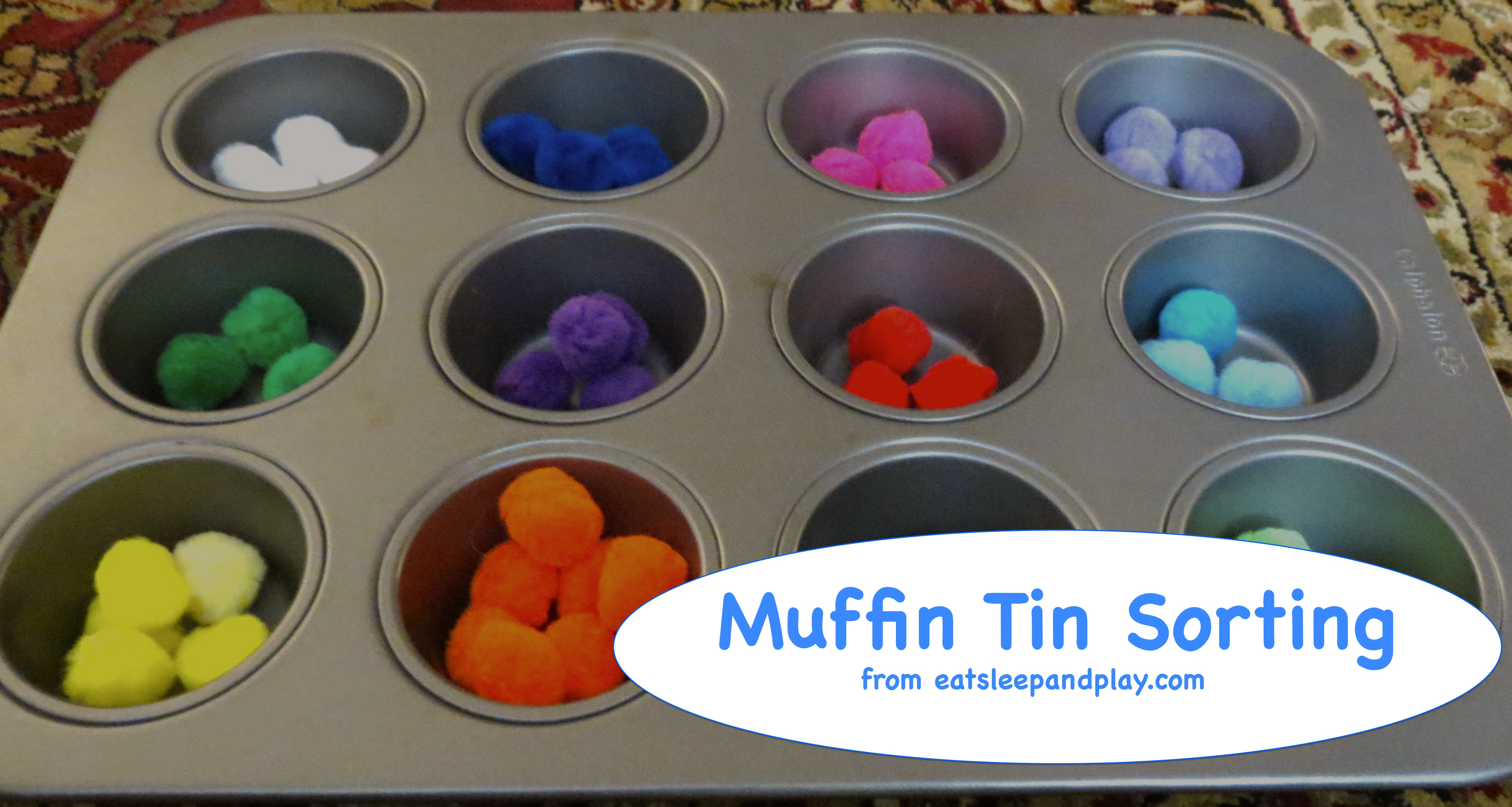 muffin tin sort
