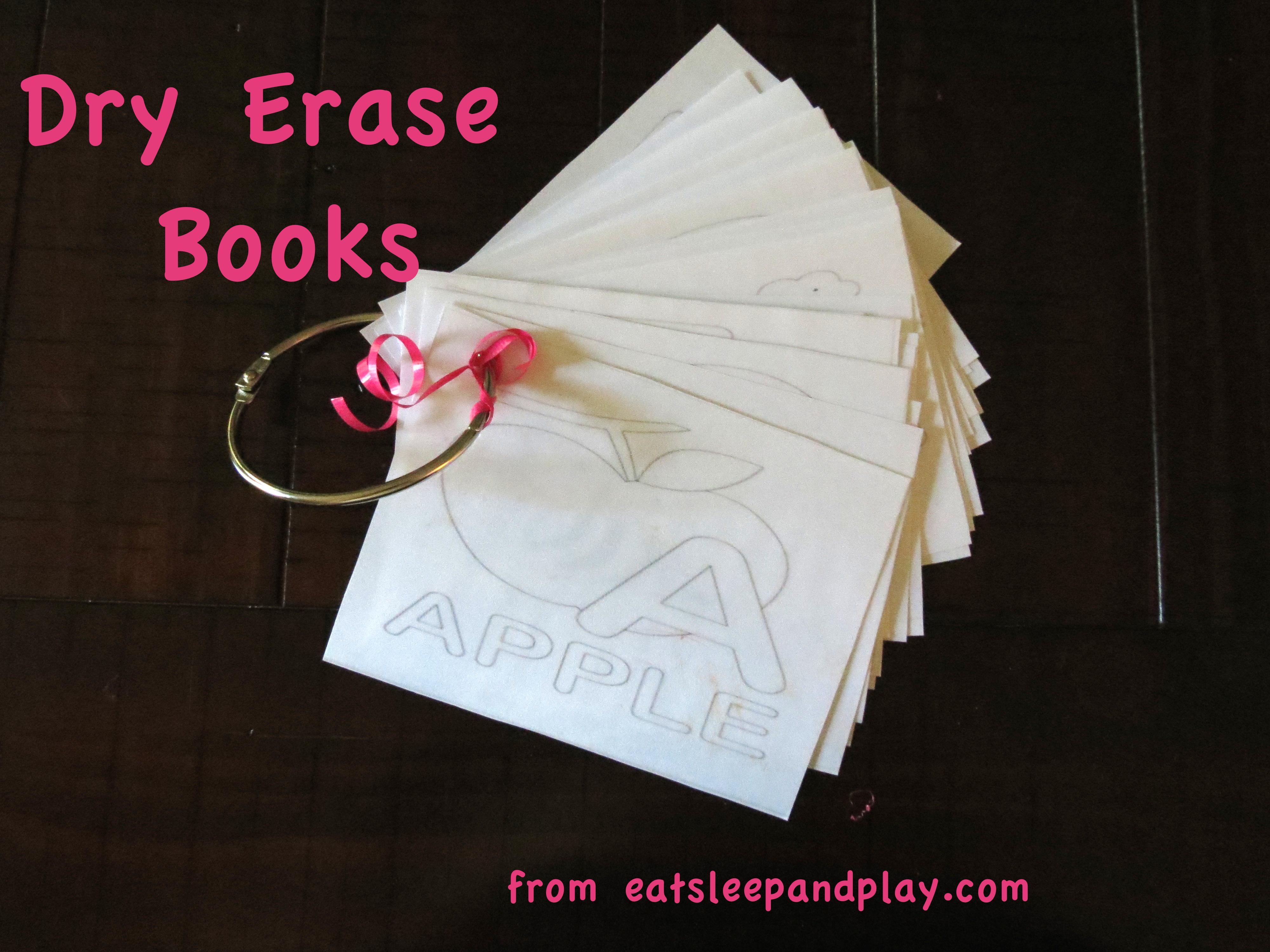 dry erase book title