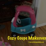 cozy coupe makeover