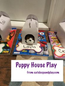puppy house decorating