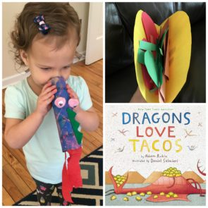 Dragons Love Tacos craft