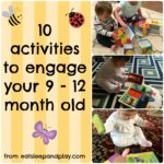 10 activities for 9-12 month olds