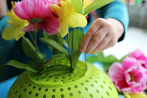 fine-motor-flower-arrangements-preschool-