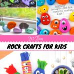 20 rock crafts for kids