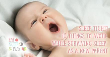 surviving sleep as a new parent.