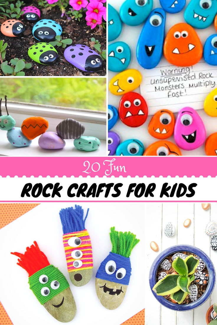 20 rock crafts for kids